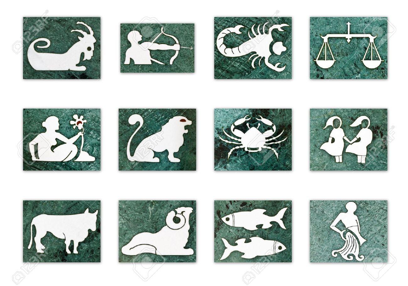 10713386 12 Zodiac Signs Horoscope Symbols Zodiac Divine Artz