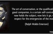Art of Conversation – One among 64 arts (samvacya)