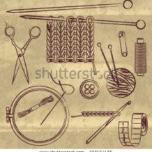Art of Sewing and needle work – (suci-vaya-karma)